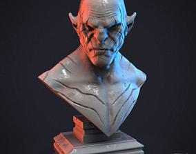 evil 3D print model Azog the Defiler