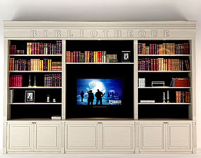 Liveroom Bookcase 3D