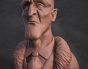 3D print model Vampire bust statue