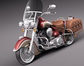 Indian Chief Vintage 2012 3D model