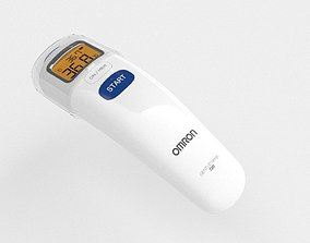 Omron thermometer 720 3d model infra
