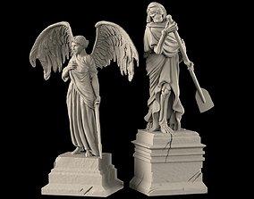 3D printable model Monumental graves