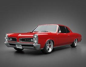 3D 1966 Pontiac GTO