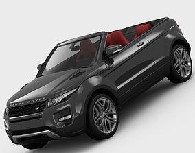 Range Rover Evoque Convertible 2013 3D model