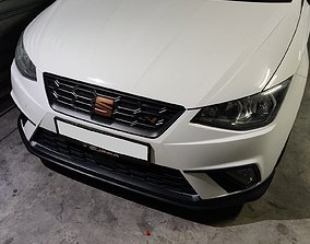 Seat Cupra Flag - Front Grill Badge 3D printable model
