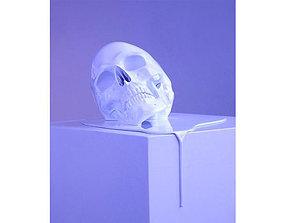 3D printable model Melting Skull mouth