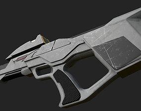 Type 3 Phaser Rifle Star Trek 3D asset