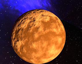 3D model Brown Planet 1
