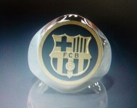 Ring FCB -Barsa -Barcelona Ring 3D print model