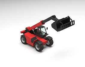 Agriculture Truck 3D machinery