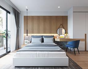 3D model Bedroom Design 2