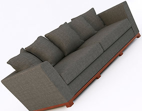 portland modern sofa 3D model