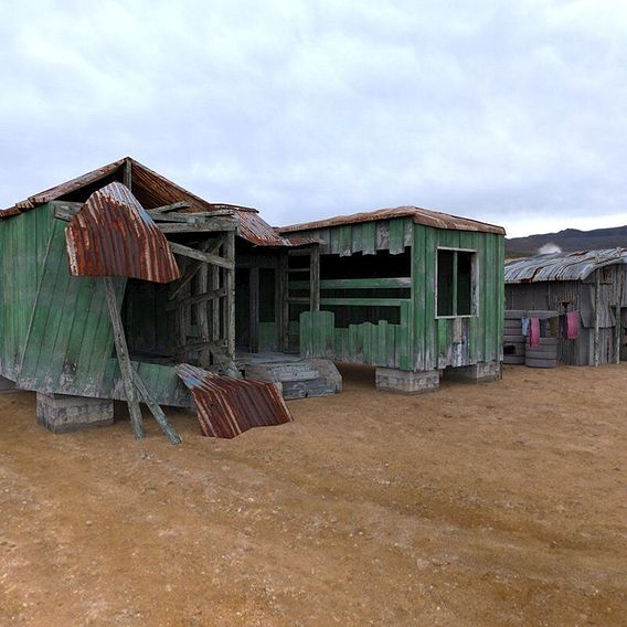 Shanty Town Buildings 1