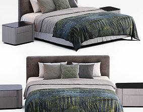3D model Minotti Bed Andersen