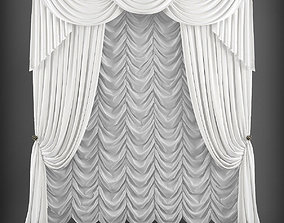 realtime Curtain 3D model155