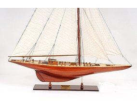 X-Large Endeavour Model Boat 3D endeavour