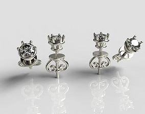 fantasy Earrings 3D print model