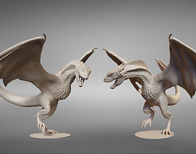 Drogon posed printable model