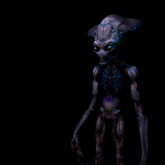 ID_Alien remastered 2020 lowpoly