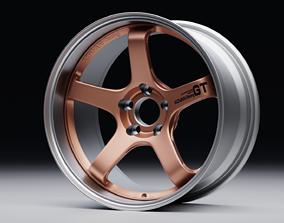 breyton 3D model ADVAN RACING GT
