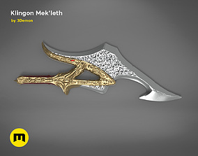 Klingon Mekleth - Star Trek 3D printable model