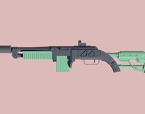 Fallout - The Fixer - Rifle 3D printable model