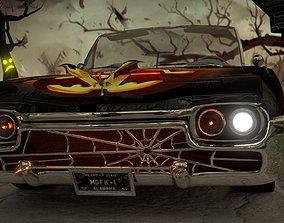 60s Classic Halloween Car 3D