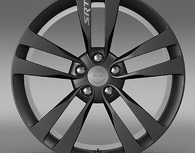 Chrysler 300 SRT8 Satin Vapor rim 3D