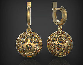 3D print model Earrings - Ball
