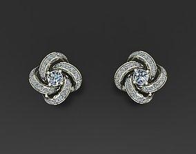 3D print model Studs jewel Earrings
