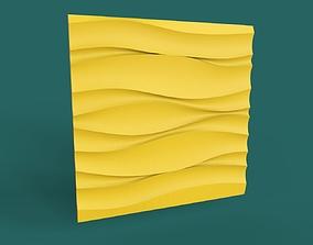 decorative 3d panel wave