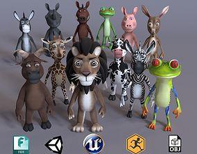 Toon Humanoid Animals Ultimate Volume 1 3D model