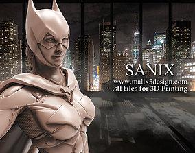 3D printable model batgirl Batgirl