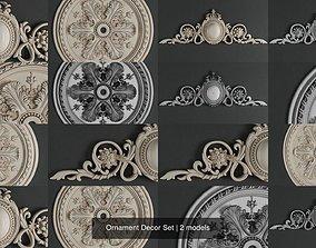 3D model Ornament Decor Set