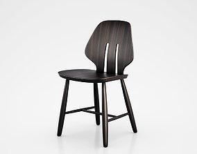 3D model Danish Classics by Mater J67 Sirka grey chair