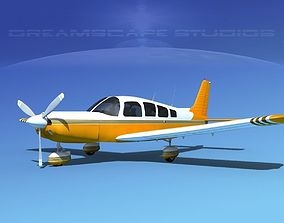 3D Piper Cherokee Six 300 V14