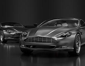 3D model Aston martin vehicle