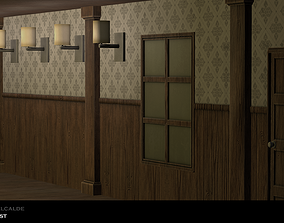 Modular Room 3D asset