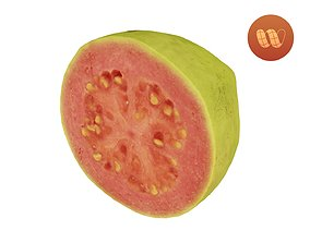 Half a Guava - Real-Time Scanned 3D asset