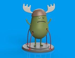 Dumb Ways to Die Character 1 3D print model