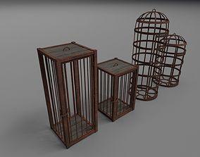 Medieval cages PBR 3D model