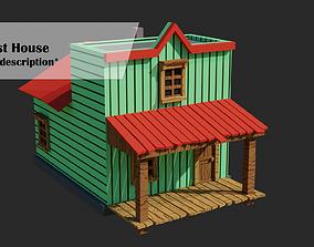 FREE Wild West House 3D model