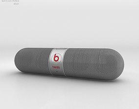 3D model Beats Pill 2-0 Wireless Speaker Silver