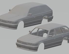 525 Touring Printable Body Car
