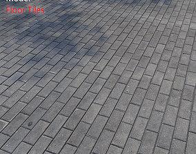 Floor Tiles stone 3D