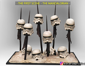 The MANDALORIAN 2019 - Stormtrooper - 3D printable model 4