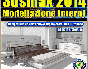 3ds max 2014 Modellazione Interni v 8 Italiano cd front
