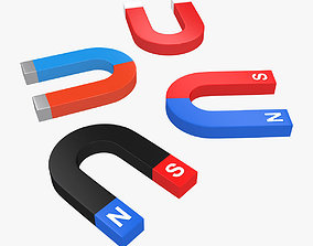 3D model Magnets