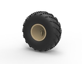 3D printable model Diecast Offroad wheel 39 Scale 1 to 20