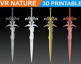World of Warcraft Frostmourne Sword 3D Printable 180707
